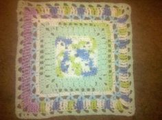 "Stitches Aplenty 12"" Square - Free Original Patterns - Crochetville"
