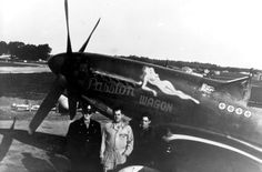 P-51D-5-NA s/n 44-13691 «Passion Wagon»-майор Arval J. Roberson- 362nd FS, 357 FG