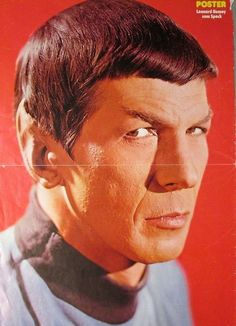 A Vintage Spock Poster If I would have THIS back then...!!!