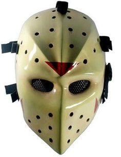 TV Maschera Scream-Official Licensed Full Face in plastica Halloween Accessorio