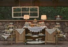 love the vintage furniture