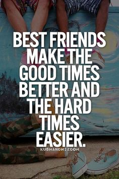 This is so true for me. I don't know what I would do without all my best friends. :)