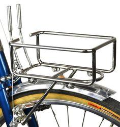 VO Six Pack Rack - Racks, Decaleurs, Accessories - Accessories Bicycle Panniers, Bicycle Rack, Velo Vintage, Vintage Bicycles, Garage Bike, Retro Bike, Old Bicycle, Cycling Accessories, Touring Bike