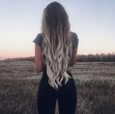 Her hair is just everything I want mine to be...