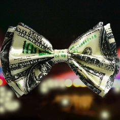 Money Bow Tie