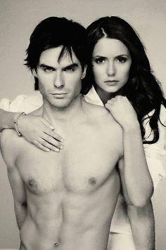 The Vampire Diaries-- Delena: Proof women choose the WRONG guy for them constantly.