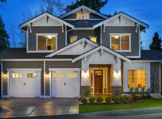 Appealing Northwest Bungalow House Plan - 23653JD | 2nd Floor Master Suite, Bonus Room, Bungalow, Butler Walk-in Pantry, CAD Available, Craftsman, Den-Office-Library-Study, Northwest, PDF, Photo Gallery | Architectural Designs