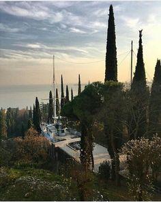 Gardone Riviera il Vittoriale degli italiani