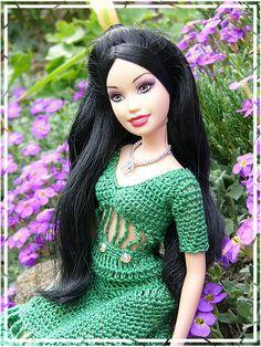 barbie-hanneton.blog.cz 46.20.2 qw #barbie #crochet #clothes