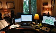 home office ideas for small spaces - Google Search
