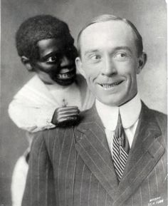 Creepy vintage portraits of vaudeville ventriloquists and their dummies - It doesn't get any weirder than this