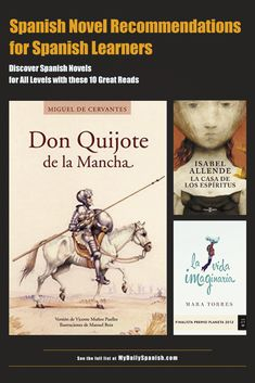 10 Best Spanish Novels to Improve your Spanish -- for All Levels
