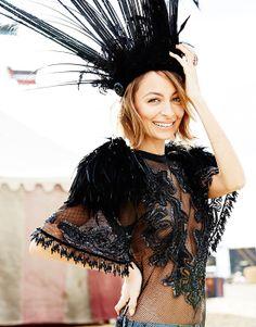 ELLE Australia: behind the scenes with Nicole Richie | Elle