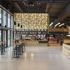 UXUS Designs Speys Eten & Drinken at the Jaarbeurs Event Centre, Utrecht