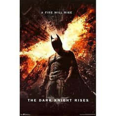 Batman The Dark Knight Rises  Movie Poster Regular Style  A Fire Will Rise Size 24 x 36 * You can get additional details at the image link.Note:It is affiliate link to Amazon.
