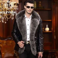 mens fur coat - Google Search