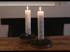 DIY: Advent candle d