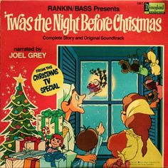 rankinbass presents twas the night before christmas complete story and original - Best Christmas Specials