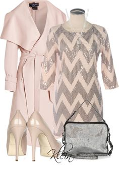 """Chevron Dress"" by stacy-klein on Polyvore"