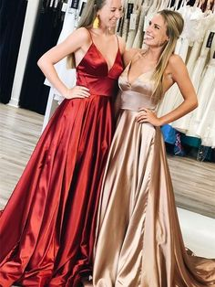 Charming V neck Evening Dresses, Long Prom Gown, Prom Dresses H3932 by Fashiondressy, $125.10 USD Best Formal Dresses, Sexy Dresses, Short Dresses, Formal Gowns, Nude Prom Dresses, Bridesmaid Dresses, Tight Dresses, Club Dresses, Ball Dresses