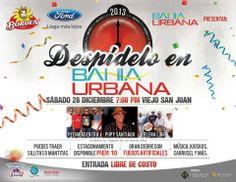 Despídelo en Bahía Urbana #sondeaquipr #despedidaano #bahiaurbana #viejosanjuan