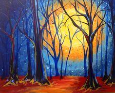 Art canvas acrylic