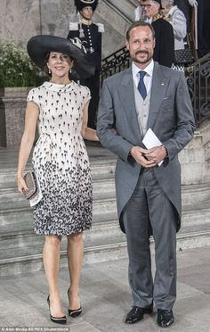 Crown Princess Mary of Denmark and Crown Prince Haakon of Norway...