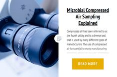 Microbial Compressed Air Sampling Explained
