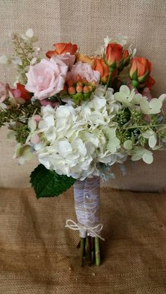 Bridal  bouquet  by Fleur de lis Florist