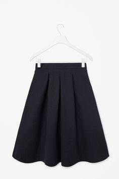 COS | Pleated wool skirt