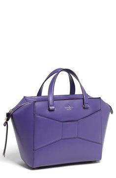 Put a bow on it! kate spade new york purple shopper