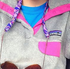 Lilly sunglasses strap and Patagonia