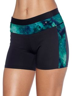 Galaxy Teal Smack Downs (US ONLY $55USD) by Black Milk Clothing