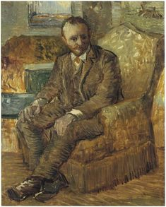 Portrait of Alexander Reid (1854–1928) by Vincent Van Gogh. Reid was a Glasgow art dealer, and friend of James Abbott McNeill Whistler and Vincent van Gogh. He was one of the most influential art dealers in Europe in the early 20th century,