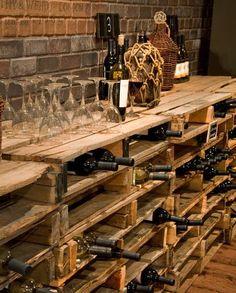 So einfach kann man ein eigenes Weinregal selber bauen Pallet shelves build as modern DIY wine racks Related posts: 172 Easy DIY Tables That You Can Build on a Budget Ana White Vin Palette, Palette Wine Rack, Bar Pallet, Pallet Ideas, Pallet Wine Rack Diy, Rustic Wine Racks, Pallet Wood, Wine Cellar Design, Wine Bar Design