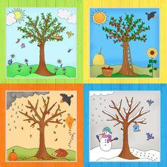 ideenreise: monatsplakate als paket | kalender für kinder, geburtstagskalender kindergarten