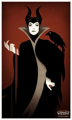 Maleficent... my husband's exwife!