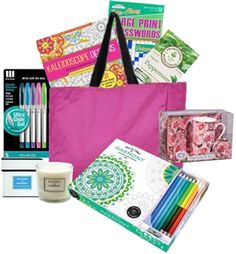 Adult Coloring Books / Gift Baskets www.JustDontSendFlowers.com