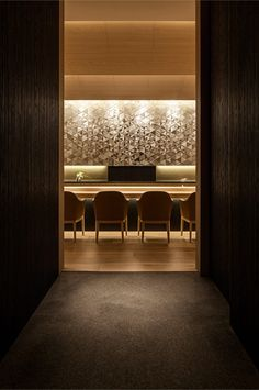 Four Seasons Hotel Kyoto - Sushi Restaurant 'Wakon' Japanese Restaurant Interior, Japanese Interior, Restaurant Design, Sushi Restaurants, Bar Interior Design, Cafe Interior, Japan Room, Japanese Bar, Nightclub Design