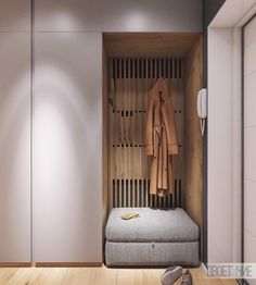 Moderrn apartment in Comfort Town on Behance modern hallway Interior Design Bedroom, Interior Design, House Interior, Hallway Wall Decor, Bedroom Interior, Home, Interior, Hallway Furniture, Home Decor