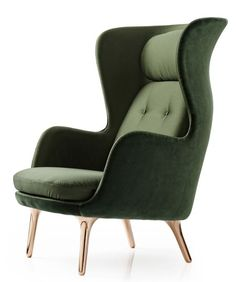 Ro Chair by Jaime Hayon - great contemporary look for a classic wing back chair: