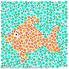 Farbsehtest für Kinder (2) Fisch Color Blindness Test, Color Test, Medical Art, Color Theory, Pre School, Activities For Kids, Kindergarten, Photo Wall, Artsy