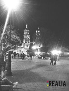 Catedral y Plaza de Armas, ciudad de Durango México