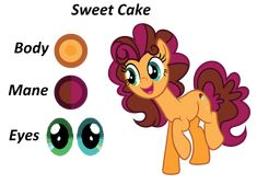 My Little Pony Dolls, My Little Pony Characters, My Little Pony Comic, Mlp Cutie Marks, Little Poni, My Little Pony Friendship, Sweet Cakes, Equestria Girls, Character Design