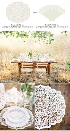 Cute table decor photography by Jose Villa, love it!  #wedding