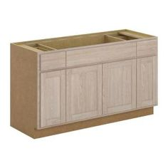 Best 18X34 5X24 In Base Cabinet With 3 Drawers In Unfinished 400 x 300