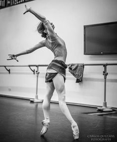 """ Maria Kochetkova (San Francisco Ballet) rehearsal at Deutsche Oper Berlin (January 2016) Photo © Carlos Quezada """