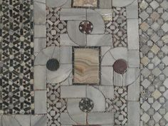 Decorative painter: For the love of Venice and the love of marble mosaic floor design Mosaic Wall Tiles, Marble Mosaic, Stone Mosaic, Lily Pictures, Paving Pattern, Marble Look Tile, Lily Painting, Mosaic Flowers, Floor Design