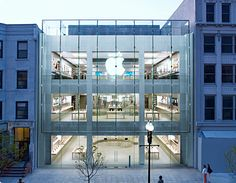 Apple Store, Boylston St., Boston, MA  Miss this. Such a great store. Glass staircase