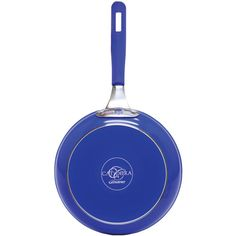 """Cat Cora 11"""" Forged Pan (blue)"""
